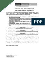 COMUNICADO N° 5-2018-PERUCOMPRAS_DAM_ DEPOSITO DE GARANTIA
