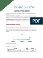 Contabilidad y Excel