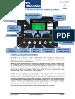 Guía Rápida Panel de Control DSE8620