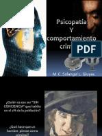 Psicopatía y Comportamiento Criminal