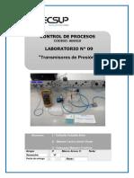Laboratorio 09 Transmisores de Presión