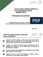 Presentacion 5ta ENCUP 2013