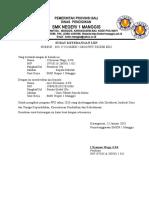 Contoh Surat Izin Mengikuti PPG