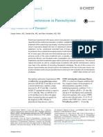 Pulmonary Hypertension in Parenchymal