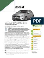 Mazda 2 SKYACTIV G 90 Exclusive Line