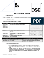 DSE 056 017 PC Configuration Interfacing