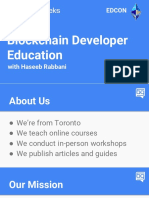Haseeb Rabbani-Developer Education and Bounty Systems