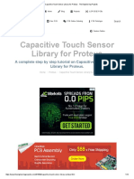 Capacitive Touch Sensor Library for Proteus - The Engineering Projects
