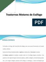 30 Trastornos Motores de Esófago