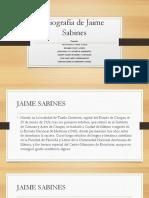 Biografía de Jaime Sabines