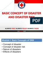 1 Module I Basic Concept of Disaster and Disaster Risk