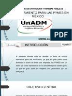 El Financiamiento Para Las Pymes en México