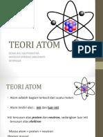 Teori Atom (kimia)