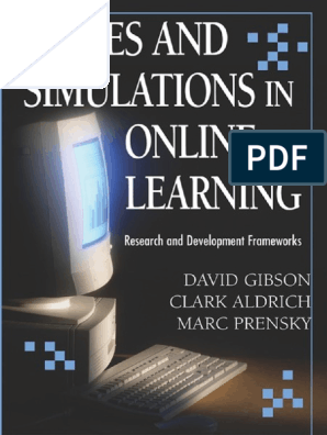 Games and Simulations in line Learning