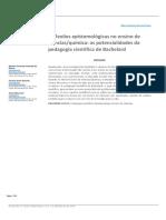 2016 - Reflexões Epistemologicas No Ensino de Ciencias_quimica - As Potencialidades Da Pedagogia Cientifica de Bachelard