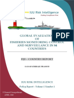 Global Evaluation of Fisheries MCS in 84 Countries - Fiji Country Report - Pramod Ganapathiraju - April 2018
