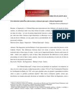 Procedimentos Judiciarios Diferenciados Tribunal Episcopal e Inquisitorial - Pollyanna G Mendonca