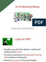 FP Básica. Información y plazos