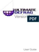 Ultimate Defrag Help