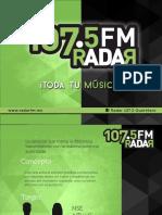 RADAR 2015 Tarifas