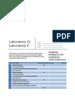 Lab 3_4 - Multiplexer Demultiplexer and Adder Subtractor