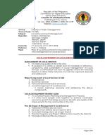 Role of Local Govt in Development
