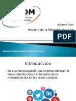 Presentación Informe Final U3S8A2