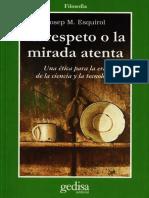307157558 Esquirol Josep Maria El Respeto o La Mirada Atenta PDF