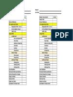 Project Documentation Status