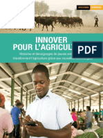 Innover pour l'agriculture