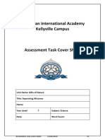 2018 assessment task cover sheet and report template  1
