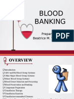 Blood Banking by Bmt
