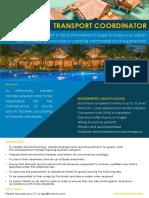 Transport Coordinator (5)