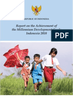 2010 Indonesia MDG Report Final