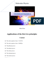 Mp Thermodynamics 4 Applications of the First Two Principles
