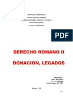 Derecho Romano II s