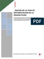Analisis de La Tasa de Defores.R.P.