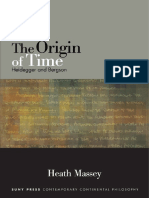 (Suny Series in Contemporary Continental Philosophy) Heath Massey-The Origin of Time_ Heidegger and Bergson-State University of New York Press (2015).pdf