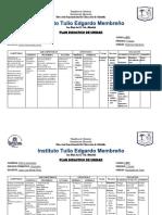 Planes de Unidad Informatica I DECIMO BTP