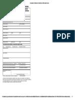 Formulario de Solicitud de Subsidio Por Enfermedad Comun Luis Marino
