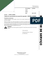 BS 43_15 - BC7800 e BC8800 - Tabela de Manuteno Do Manual Do Operador