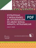 Intebi, I. (2012). Estrategias y Modalidades de Intervencion en Abuso Sexual Infantil Intrafamiliar.