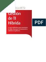 Libro Blanco Gestion TI Hibrida