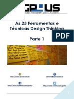 Design Thinking - 25 Técnicas e Ferramentas - Parte 1