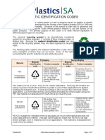 Plastic Identification Codes PlasticsSA Jul2012