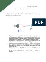 Método Para Determinación de Velocidad de La Luz Según Alberto Michael Son