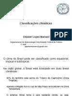 Unidade v Classificações Climáticas