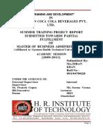 43757830 Coca Cola Training Development