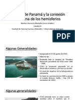 Unidad 6 El Canal de Panamá - Nicolás Echavarría
