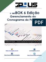 PMBOK 6ª Edição - Gerenciamento Do Cronograma Do Projeto
